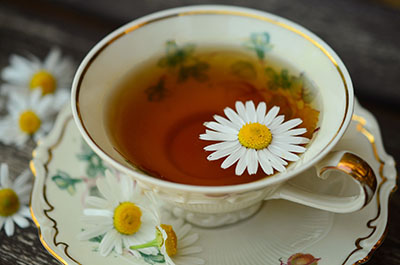 Chamomile tea for children