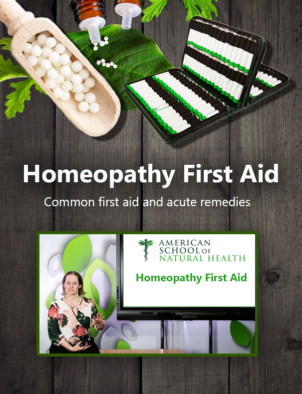Homeopathy First Aid Online Course
