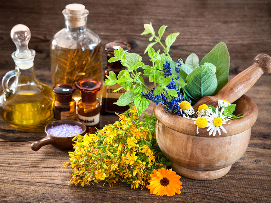 Herbs for skin
